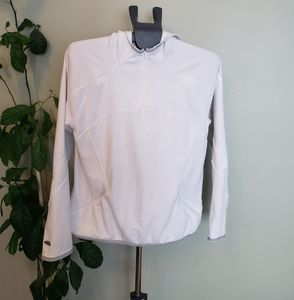 Adidas fleece hooded long sleeve